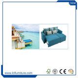 Новой модели складывая кровать 2017 софы с комплектами большими пены софы хранения