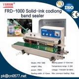 Sellador continuo de la venda de la codificación de la fecha de la Sólido-Tinta Frd-1000 para los bocados