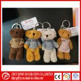 Cadeau promotionnel de la CE de jouet de trousseau de clés d'ours de nounours