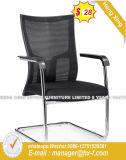 Belüftung-Büro-Möbel-Ineinander greifen-Rückseiten-Schwarz-Executivstuhl (HX-AC023B)