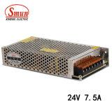 Smun S-180-24 180W 24VDC 7.5A Schaltungs-Stromversorgung für Fernsehapparat