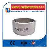 Protezione galvanizzata dell'estremità del tubo della saldatura testa a testa dell'acciaio inossidabile Sch40