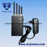 4 jammer portátil do telefone móvel da faixa 2W 4G Lte