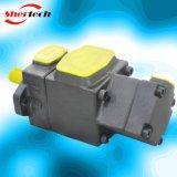 유압 조정 진지변환 저잡음 두 배 바람개비 펌프 PV2r12 (Yuken 의 주입 주조 기계를 위한 shertech PV2R 12 serie)