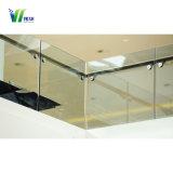 Pool-Glasbalustrade, Swimmingpool-Balustrade, die ausgeglichenes Glas einzäunt