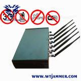 Emittente di disturbo registrabile del telefono delle cellule di WiFi GPS dell'antenna di alto potere 6
