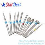 Diamante Burs (3PCS/packing) di materiale dentale