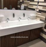 Vanità di marmo della stanza da bagno di Corian di disegno