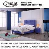 Het moderne Echte Meubilair G7010 van de Slaapkamer van het Huis van het Bed van het Leer
