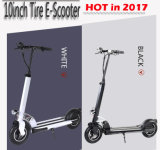 2018 rotella della gomma di 8inch 10inch che piega il motorino elettrico di Unfoldable