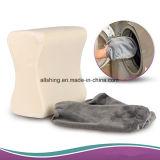 Palier de support de genou de mousse de mémoire entre les genoux ou sous le palier de genou