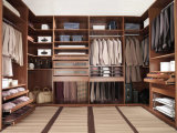 Promenade en bois de modèle de Morden dans le cabinet pour la chambre à coucher