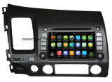 Reprodutor de DVD do carro Android5.1/7.1 para Honda Civic LHD
