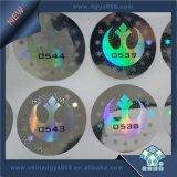 Sticker van het Hologram van de Laser van de Veiligheid van de douane 3D