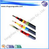 Cu entièrement Screened/XLPE câble d'Insulated/PVC engainée/blindé/instrumentation