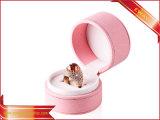 Nouvelle conception de bijoux COFFRETS CADEAUX ronde d'emballage des boîtes en cuir pour bijoux
