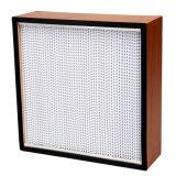 Высокая эффективность индивидуальные фильтра HEPA с деревянной рамой