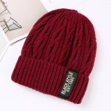 Мода Red Hat Beanie Red Hat зимой Red Hat