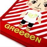 OEM encantadora plaza Kids plancha sobre tejido de parche para Hat