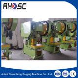 Preço da máquina perfurador mecânico/mecânico da máquina da imprensa do metal de folha de J21s-80t