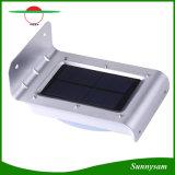 16 lumières infrarouges imperméables à l'eau de chemin de lampes de mur de détecteur de mouvement de lumière extérieure légère solaire de jardin de DEL
