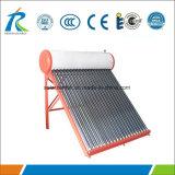 100L de compacte Verwarmer van het Water van de niet-Druk Zonne met Certificaat Keymark