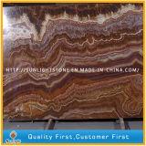 Рубин/Brown/красный естественный каменный Onyx для предпосылки