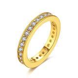 K de Gouden Juwelen van de Manier van de Ring van het Paar Zircon