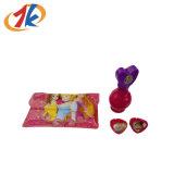 Bouteilles de parfum en plastique de qualité avec le sac de PVC et le jouet de boucle pour la promotion