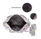 Os sacos de luxe acessíveis do tecido do bebê da mamã do Tote de 4PCS Wipeable couberam o carrinho de criança