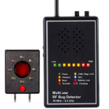 Versatile Detector RF bug Sweeper with audio verification Lens Finder Acoustic display signal Detector anti Candid anti Wiretapped alarm system for Security