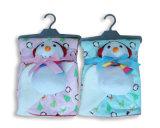 Детское одеяло с мягкие игрушки - Рождество печать на холсте