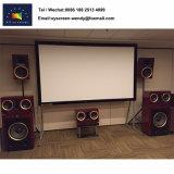 "120 "" diagonaler 16:9 4K ultra HD Projektor-Bildschirm weißes Belüftung-Material"