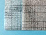 tejido de la fibra de vidrio 75g con el acoplamiento para el suelo flexible del PVC
