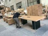 Festes Holz-leitende Stellung-Schreibtisch (MG-005)