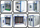 Hohe Ausbrütenkinetik-automatischer Solarei-Inkubator-Huhn-Brutplatz