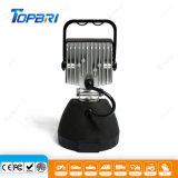 야외에서를 위한 자동 LED 일 램프 9W Portable