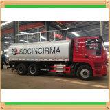 Iveco Genlyon 8000 nous transport diesel de gallons réapprovisionnent en combustible le camion de réservoir