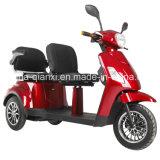 De elektrische Driewieler van de Autoped voor Ouder Paar