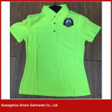 Camisas de polo baratas por atacado da fábrica para homens para a promoção (P109)
