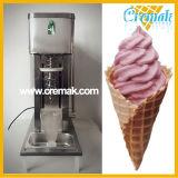 탁상용 판매를 위한 실제적인 과일 소용돌이 아이스크림 기계