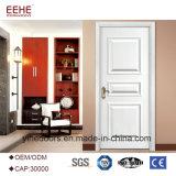 Projeto de madeira da porta de painel dos bons preços de madeira das portas