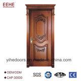 As portas de madeira à moda européias projetam a porta da madeira contínua