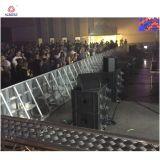 Etapa de aluminio concierto barrera barrera de control de masas para la venta