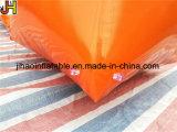 Depósitos infláveis feitos sob encomenda do templo, depósito inflável de Paintball para o jogo de PSP