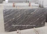 Lastre del granito della Cina Juparana con le vene dentellare per la pietra tombale
