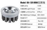espuma de la bilis de la haba de la taza Ar80 LED de la lámpara 13W