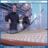 De ceramische Bouw van het Glas van de Kromming van de Fritte Zure/Gezandstraalde Aangemaakte Gebogen/Hete
