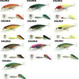85mm-95mm kundenspezifischer sich hin- und herbewegender Plastikfischen-Köder der harten Minnow-Pr-L3520/3521