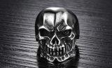 De Fietser van het Been van de Schedel van mensen belt de PunkToebehoren van de Decoratie van Halloween Undead van de Juwelen van de Juwelen van het Roestvrij staal van de Schorpioen Mannelijke Retro Mannelijke Retro